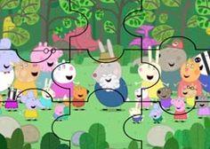 JuegosdePeppa.com - Juego: Rompecabezas Personajes Peppa Pig Puzzles de Dibujos Online Juegos Peppa Gratis Online