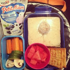 Easy Toddler Food - Kindy Lunch