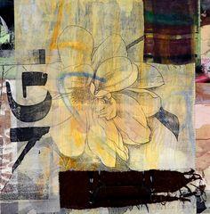 """Saatchi Online Artist: Joan Schulze; Paper, 2011, Assemblage / Collage """"New Haiku 01"""""""