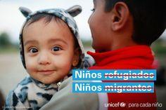 No son niños #migrantes. No son niños #refugiados . Los niños son ante todo #niños.