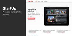 StartUp - WordPress theme for Startups