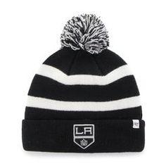 ad290c76cf647 Men s Los Angeles Kings  47 Black Breakaway Cuffed Knit Hat Los Angeles  Kings