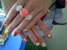 ... Is that a candy ring?!