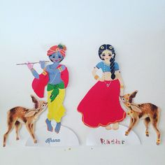 Paper Doll Krsna with outfits Remember Krishna by RememberKrishna