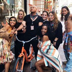 MAC Vibe Tribe @ 45 Powell St in San Francisco CA! Live bands performances &make up demos all weekend  by propowell