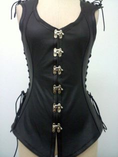 Made to orderFemale Sherrif's Vest with by emporiumleathers, $195.00 - in brown
