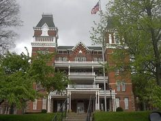 The Ridges in Athens. OH. Once a mental hospital with all that implied in the early years, this is still a beautiful building from yesteryear, now used for better things by Ohio University.