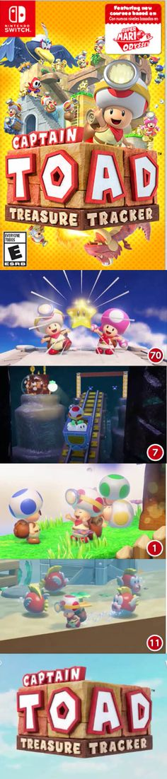 Captain Toad on on the hunt for more stars! Gamer News, Toad, Nintendo Switch, Stars