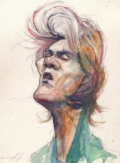 Wata Watercolor by Meneer Marcelo, via Behance