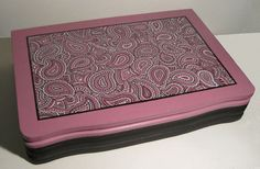 Paisley Repurposed Silverware Box by ColorCantHurtYou on Etsy