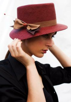 s/s 2010 Yestadt Millinery  Samantha West Photography