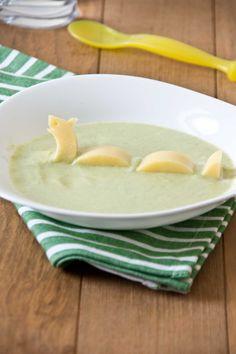 Soupe à la courgette et monstre du Loch Ness (au fromage)