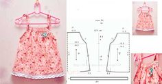 patrones para hacer un vestido de niña facil. Las pequeñas de la casa siempre suelen pedir más, ya que están muy al pendiente de lo que llevaran a cualquie