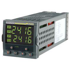 Controlador 2416 - Control de alta Estabilidad - Hasta 20 Programas - 16 Segmentos - Calentamiento y Enfriamiento - Funcionamiento personalizable - Visualización de Intensidad del Calefactor - Varias Alarmas en una misma Salida - Retransmisión por CC - Comunicaciones digitales: Modbus RTU - Red Profibus DP - Red Devicenet