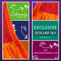 To shop for Exclusive Designer Silk Sarees  Visit : http://www.ghantysarees.com/collection/Designer-Pure-Silk-Sarees — with Ankush Nandy and 3 others.
