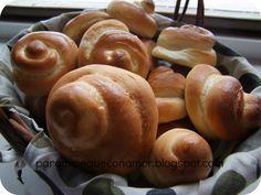 """Para mi peque con amor: """"Mangueritas"""" de pan de leche"""