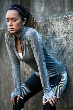 Nike Power Tights, Bianca Cheah // www.sporteluxe.com