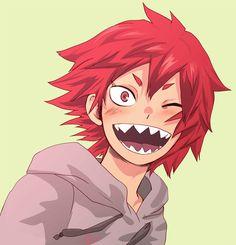 Boku no Hero Academia || Kirishima Eijirou, #mha --okay I just love his smile