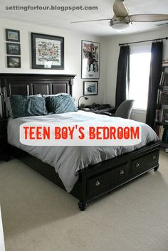 Bedroom For Teen Boys On Pinterest Teen Boy Bedrooms Boy Bedrooms