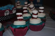 I hosted a Dr. Seuss baby shower for my sister-in-law Susan last weekend. My sister-in-laws and . Dr Seuss Baby Shower, Hobbs, Happenings, Shower Ideas, Shit Happens, Desserts, Food, Events, Tailgate Desserts