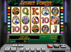 Secret Forest game slot play for money. Secret Forest slot machine by Novomatic tells us about the unusual creatures such as fairies and unicorns living in a magical forest. On the 5 reels the player will see carefully traced themed icons and betting he can do on an odd number of lines from 1 to 9. Here, there are two special symbols