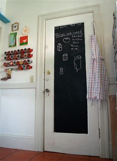 can totally do this on my pantry door!