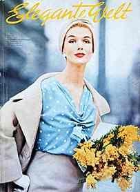 Magazines 1957 Elegante Welt