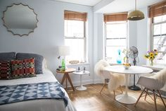 NYC studio apartment Follow Gravity Home: Blog - Instagram - Pinterest - Facebook - Shop