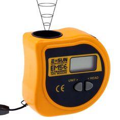 [$14.78] Ultrasonic Electronic Tape Measure, Measure Range: 0.4m-18m