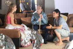 Una de las escenas con el maestro Oscar Avilés