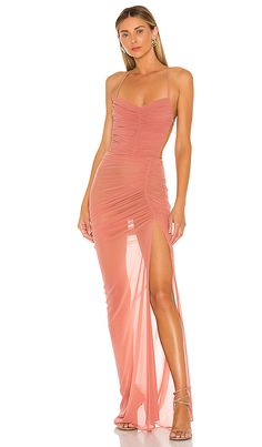 Shop for Michael Costello x REVOLVE Follie Gown in Mauve at REVOLVE. Free day shipping and returns, 30 day price match guarantee. Dressy Dresses, Short Dresses, Maxi Dresses, Wedding Dresses, Michael Costello, Other Outfits, Cropped Pants, Dress To Impress, Dress Skirt