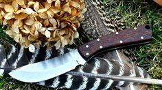 Again, A Small Documentary on How F-knives made a Full Tang Handle for a Steel Knife Blank. The handle consists of Red Palm Scaled along with Brass And St. Bushcraft Essentials, D2 Steel, Bushcraft Knives, Knife Handles, Custom Knives, Knife Making, Hunting, Make It Yourself, Blade
