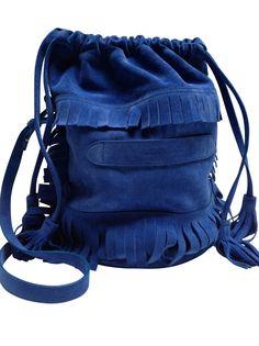 Marie Martens blue ibiza bag - Marie Martens - Labelcrush