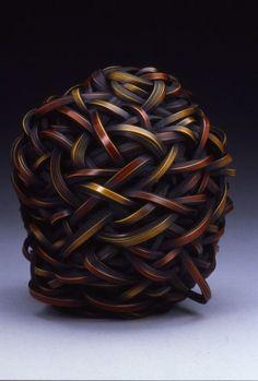 "emmaklee: ""Jiro Yonezawa / bamboo sculptural basketry """