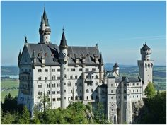 """King Ludwig's Castle - Neuschwanstein - The Famous So-Called """"Cinderella Castle"""" Bayern (Bavaria) Germany The Places Youll Go, Great Places, Places To See, Wachau Valley, Real Life Fairies, Germany Castles, Neuschwanstein Castle, Famous Castles, Cinderella Castle"""