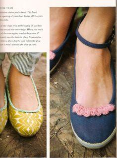 Embellishing canvas shoes. Aww    Google Image Result for http://kayteterry.typepad.com/.a/6a00e54ecd94e588330120a55df708970c-800wi