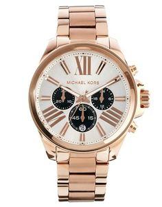 Michael Kors Wren Rose Gold Watch via ASOS