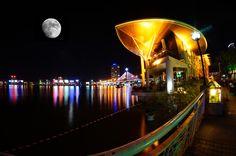 Danang night, Vietnam. #Danang #Vietnam