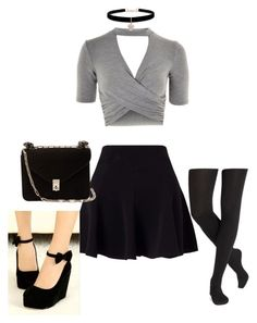 """""""Untitled #298"""" by ashleylovesclifford on Polyvore featuring Topshop, Miss Selfridge, Valentino and Betsey Johnson"""
