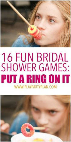 16 of the best bridal shower games ever, these look like so much fun!