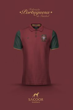 National Football kits reimagined with Local Brand sponsorship by Emilio Sansolini - Portugal x Sacoor Brothers