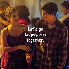 Charlie and Sam / Logan Lerman and Emma Watson in The Perks of Being a Wallflower