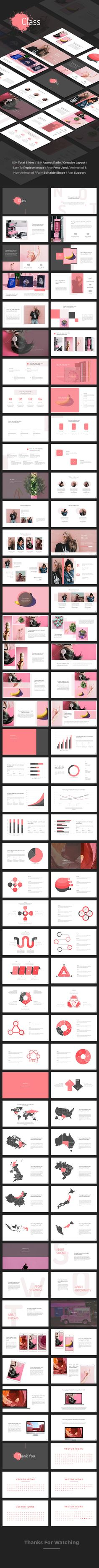 Class - Creative Powerpoint Template