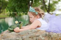 Princess and Frog themed session.  Too cute. #photography #children #princess by jane