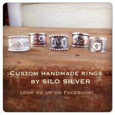 Custom rings by Silo Silver