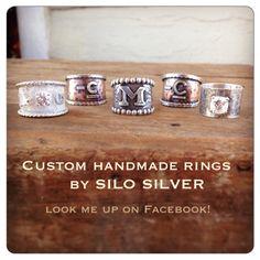 Custom rings by Silo Silver