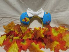 Items similar to Winnie the Pooh inspired Mouse Ears / Headband on Etsy Mouse Ears Headband, Ear Headbands, Winnie The Pooh Ears, Etsy Shop, Unique Jewelry, Handmade Gifts, Inspired, Vintage, Check
