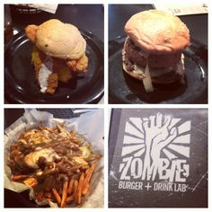 You'll definitely want to eat at Zombie Burger in Des Moines, IA during World Pork Expo. #WPX #stockshowlife