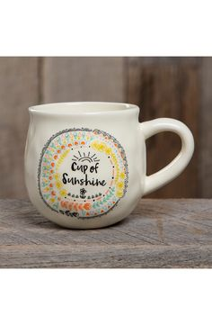 'Cup of Sunshine' Ceramic Coffee Mug