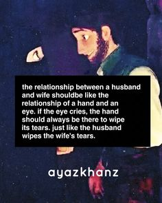 Husband and Wife in Islam *Ok for the quote but not for the photo 👍💕 Islamic Love Quotes, Muslim Quotes, Religious Quotes, Islam Marriage, Marriage Life, Hadith, Alhamdulillah, Noble Quran, Love In Islam